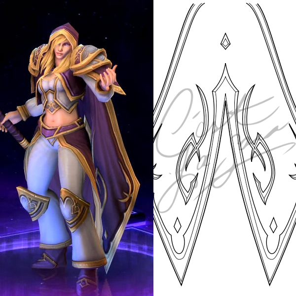 Jaina Proudmoore Heroes of the Storm Pattern