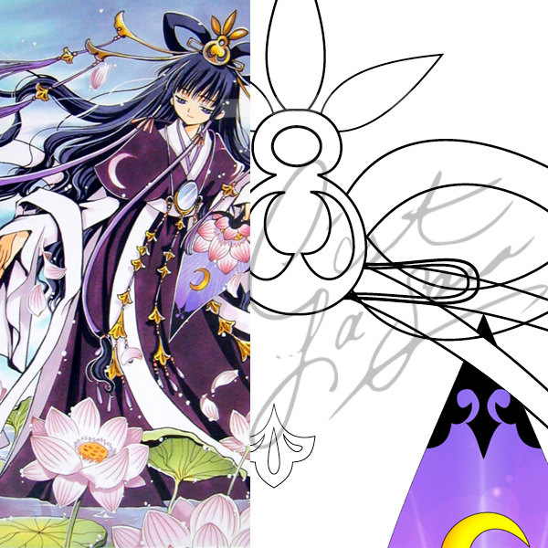 Tomoyo Hime Cosplay Tsubasa Reservoir Chronicle CLAMP xxxHolic Cosplay Pattern