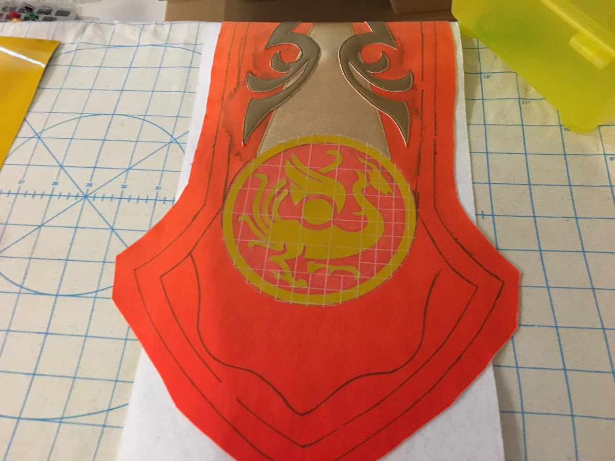 Using Heat Transfer Vinyl For Cosplay Applique Tutorial