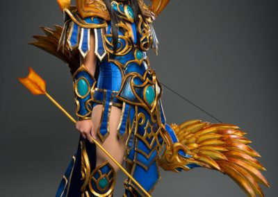 Blood Elf Tyrande Whisperwind Heroes of the Storm Cosplay Guide Tutorial Build