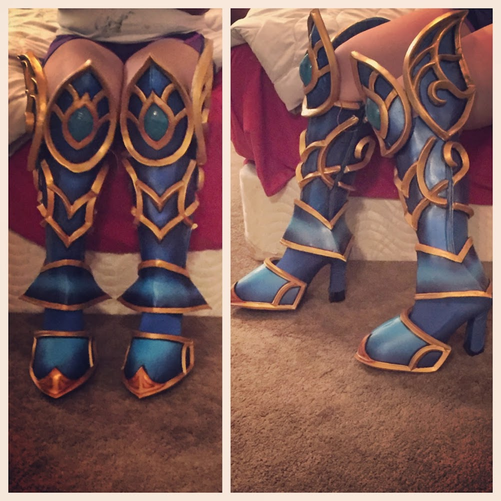 How to Make Fitted Boot Base Covers Cosplay Tutorial