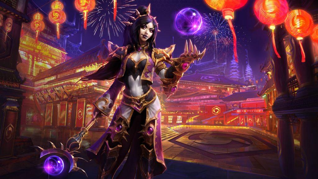 Li Ming Heroes of the Storm Diablo Wizard cosplay cestlasara