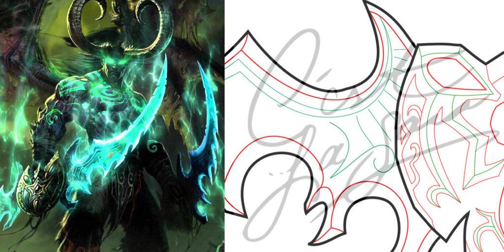 Murkidan Illidan Kigu World of Warcraft Cosplay