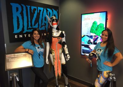 Display at Blizzard HQ