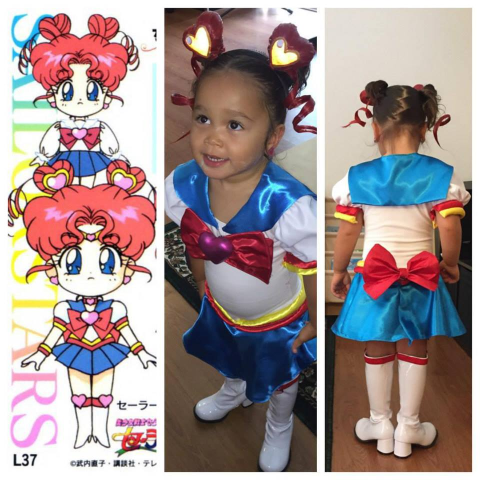 sailor chibi chibi moon cosplay