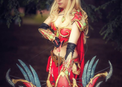 Blood Elf Hunter w/ Thas'dorah Bow - World of Warcraft