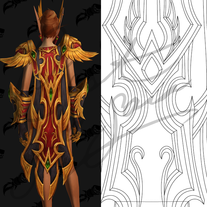 Blood Elf Heritage Armor