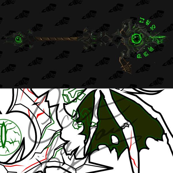 Warlock Artifact Weapon